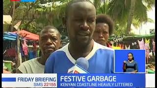 Festive garbage: Kenyan coast heavily littered