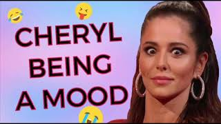 Cheryl Cole Being A MOOD For 7 MINUTES Straight