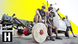Plywood Wheel Burnouts - Will They Catch Fire?