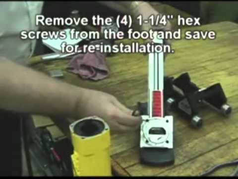 Powernail 445FS PowerStapler Roller Conversion Kit Installation Instructions