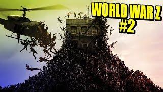 WORLD WAR Z #2 - MONTAÑAS DE ZOMBIES!!! | Gameplay Español