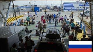 Более 2,5 тысячи автомобилей ждут открытия Керченской переправы