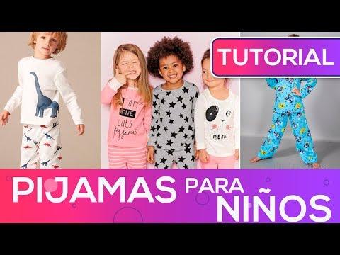 Pijamas para NIÑOS como hacer