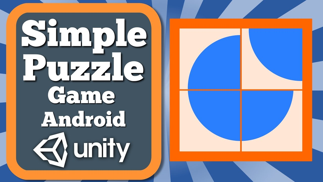 Unity Tutorial How To Make A Simple Puzzle Game For Android   Rotate Puzzle Game