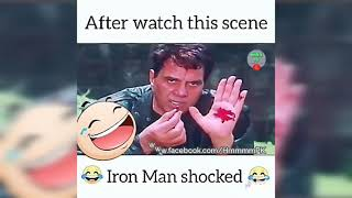 After Watch this Bollywood Film scene Maybe Iron Man Dead | MEMES