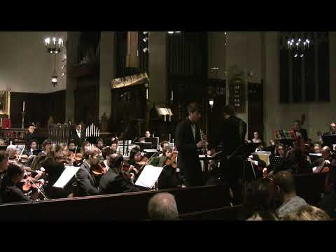 "Performance of Oscar Navarro's ""II Concerto"" with Brookline Symphony Orchestra"