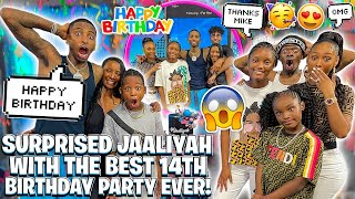 SURPRISED ROYALTY'S DAUGHTER JAALIYAH WITH THE BEST 14TH BIRTHDAY PARTY EVER!