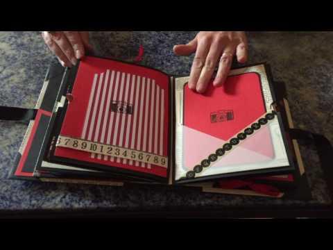 """Video Mini-album vintage """"Souvenirs d'école"""""""