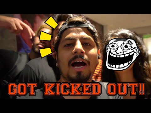 GOT KICKED OUT OF BEER PONG COMPETITION | Vlog117