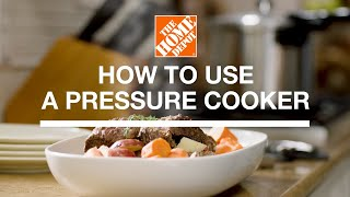 How to Use a Pressure Cooker | Kitchen Appliances | The Home Depot