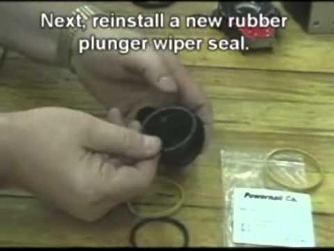 Powernail Model 200 Seal Change Instructions