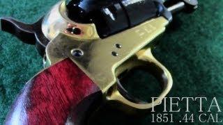 Pietta Model 1851 Navy .44 Cal Unbox  Cabelas Black Powder Revolver