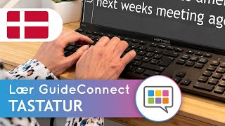 Lær GuideConnect - Tastatur