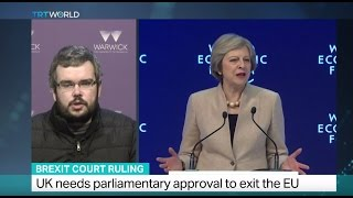 Brexit Court Ruling: Interview with Mike Finn