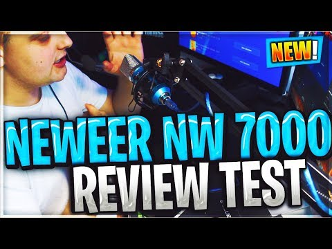 NEEWER NW 7000 USB MICROPHONE UNBOXING SETUP & REVIEW