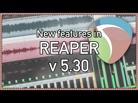 What's New In REAPER v 5 30 - remote control