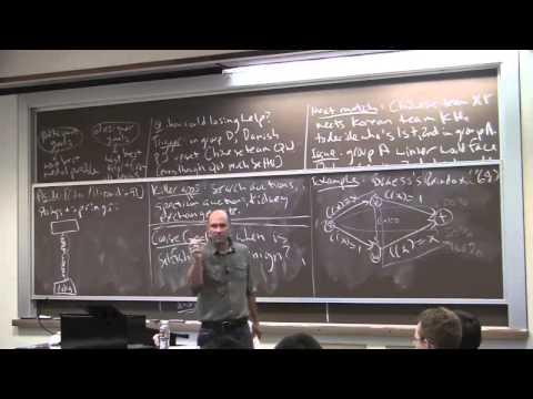 Teoría de juegos algorítmica : Lección 1 (introducción)