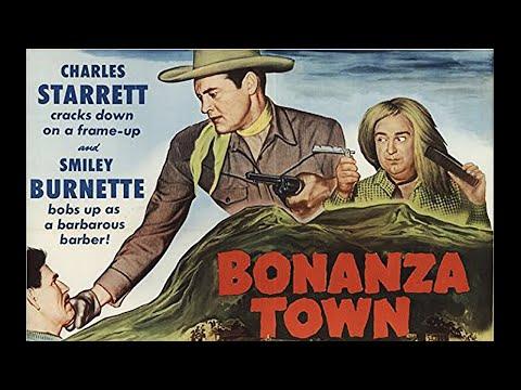 Bonanza Town | Full Western Movie | HD | 1951 | English | Charles Starrett | Fred F. Sear