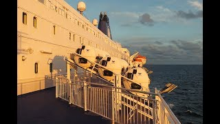 DFDS Seaways ferry. Northsea crossing from IJmuiden to Newcastle