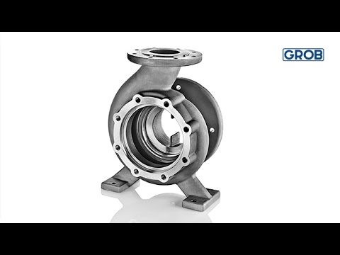 G550: Flange machining pump housing