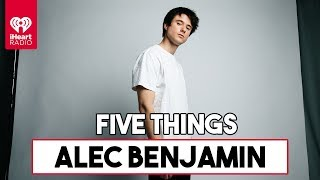 "5 Things About Alec Benjamin's Single ""Let Me Down Slowly""  