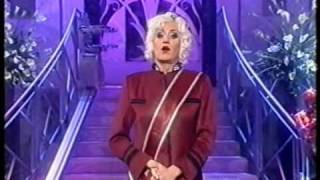 Lily Savage LIVE on TV (going OFF-SCRIPT!)