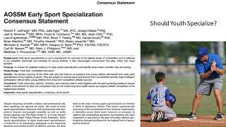 Making it as a College Athlete, Sport Specialization, and Why Kids Quit Sports