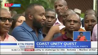 Governor Hassan Joho and Governor Amason Kingi met MCAs from the coast region