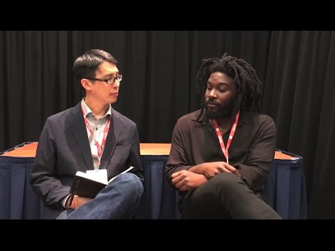 Jason Reynolds: the beauty of words is magic