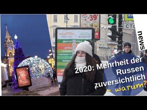 2020: Mehrheit der Russen zuversichtlich – warum? [Video]