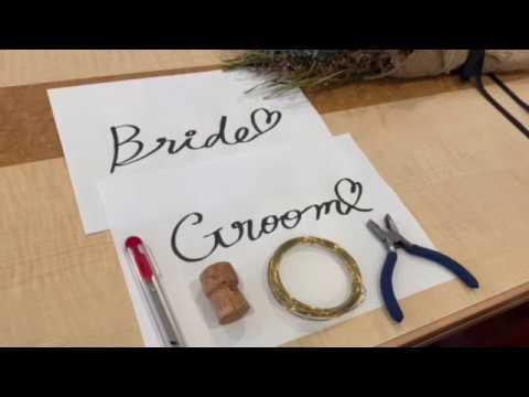 【結婚式場のプランナーが教える!簡単DIY】第一弾★ワイヤーアートの作り方♪