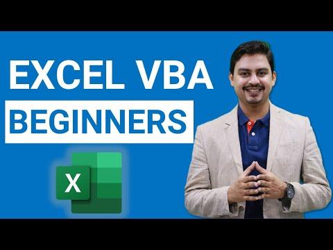 Excel VBA Tutorial for BEGINNERS | Excel Macro