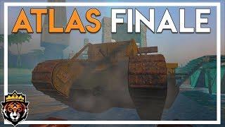 Tanks, Planes & Blowing up the Base - Atlas Season 1 Finale! (Atlas Gameplay Part 41)