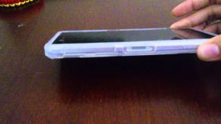 Spigen Ultra Hybrid clear case for Sony Xperia Z2