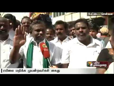 P-R-Pandian-coordinator-farmers-consortium-demands-an-all-party-meet-for-a-permanent-solution