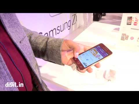 Samsung Z1 - First Look at the Tizen Powered Smartphone