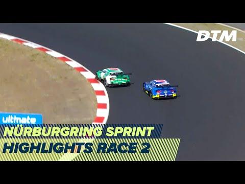 2020年 DTM ニュルブルクリンクスプリント(ドイツ)レース2を3分半でみるハイライト動画