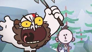 A God of War Cartoon