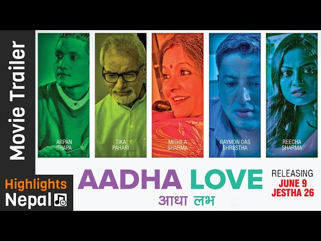 "Thumnail of Trailer of New Nepali Movie ""Aadha Love"""