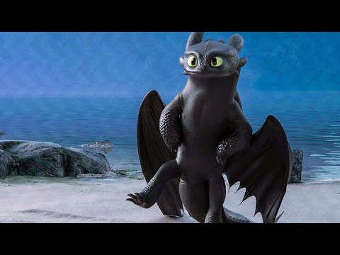 Toothless Dances For The Light Fury Scene - HOW TO TRAIN YOUR DRAGON 3 (2019) Movie Clip