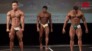 FM SINGAPORE NATIONALS 2019 - Mens Bodybuilding Open, Light MiddleWeight