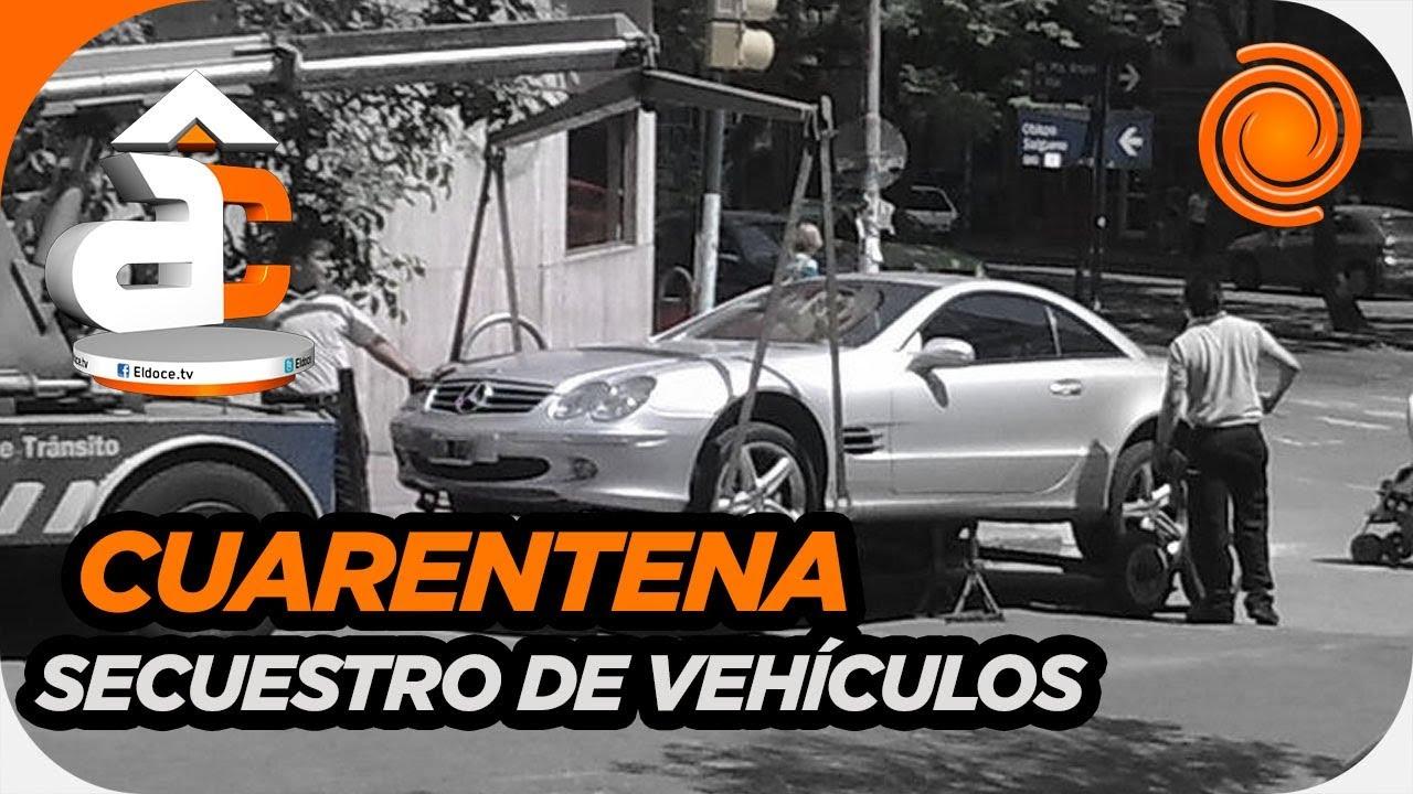 Secuestran autos que circulen por la calle sin justificación