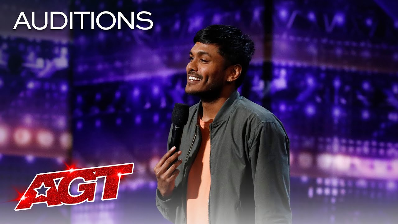 Comedian Usama Siddiquee Performs Hilarious Stand-Up Comedy - America's Got Talent 2020 thumbnail