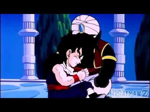 Goku Punches Gohan