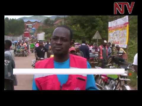 Ebola screening intensifies at border ahead of Martyrs day