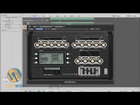 Teragon Audio KickMaker Demonstration