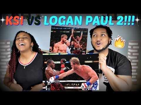 KSI VS Logan Paul 2 FIGHT RECAP + THOUGHTS!!