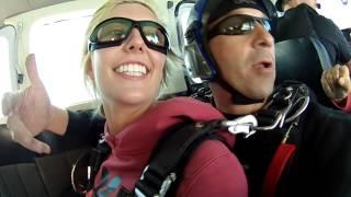 Skydive South Sask Tandem Video: - Nicole Snider