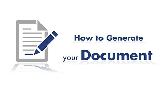 How to generate your document