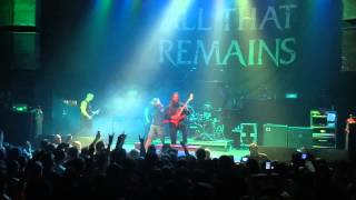 All That Remains What If I Was Nothing Hold On Live